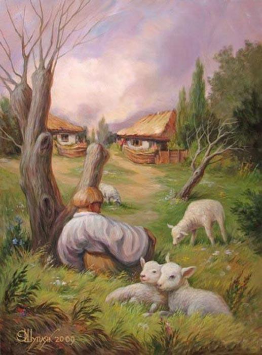 Εντυπωσιακοί πίνακες ζωγραφικής με διπλό νόημα (10)