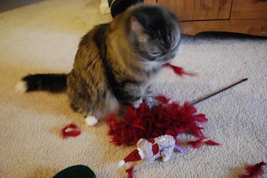 Γάτες που μισούν τα Χριστούγεννα (15)