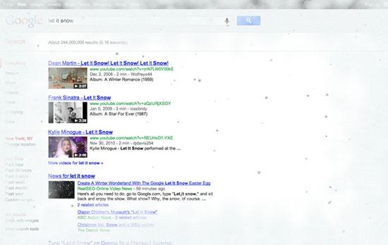 Google Snow