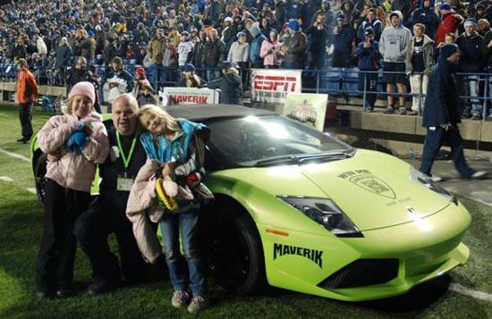 Κέρδισε Lamborghini και την κατέστρεψε λίγες ώρες αργότερα (1)