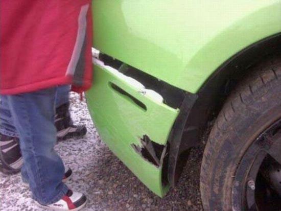 Κέρδισε Lamborghini και την κατέστρεψε λίγες ώρες αργότερα (5)