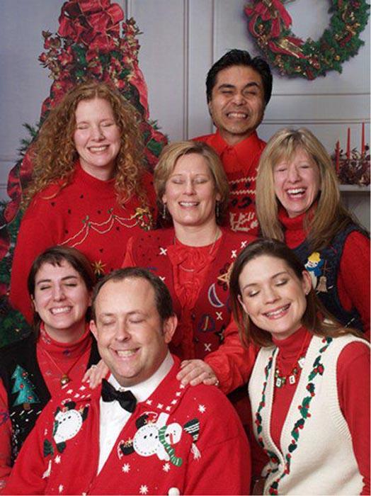 Παράξενες οικογενειακές φωτογραφίες Χριστουγέννων (3)