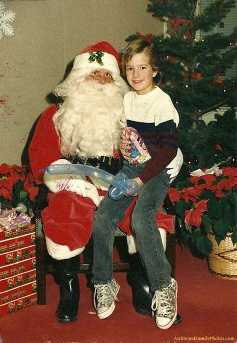 Παράξενες οικογενειακές φωτογραφίες Χριστουγέννων (5)