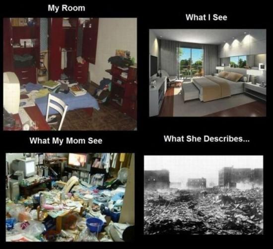 Φωτογραφία της ημέρας: Το δωμάτιο μου