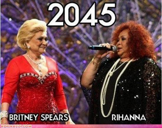 Φωτογραφία της ημέρας: Πως θα είναι η Britney Spears και η Rihanna το 2045