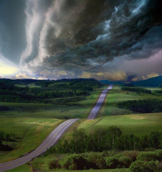 Φωτογραφία της ημέρας: Δρόμος στο άγνωστο