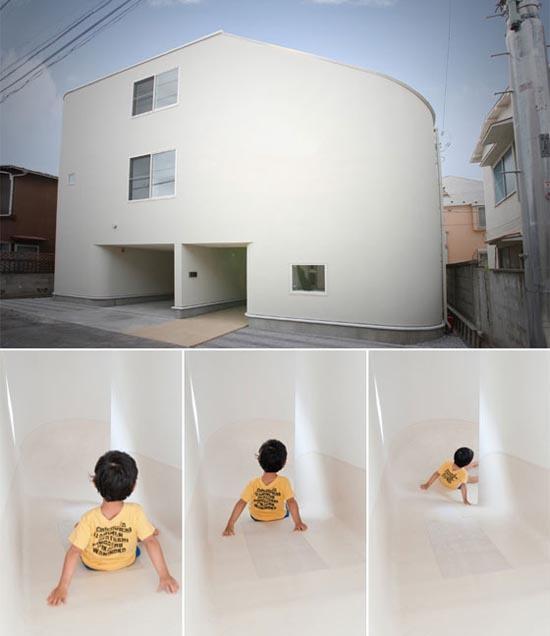 Πρωτοποριακό σπίτι με τσουλήθρα (1)