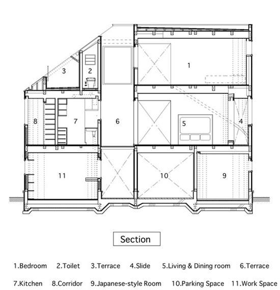 Πρωτοποριακό σπίτι με τσουλήθρα (10)