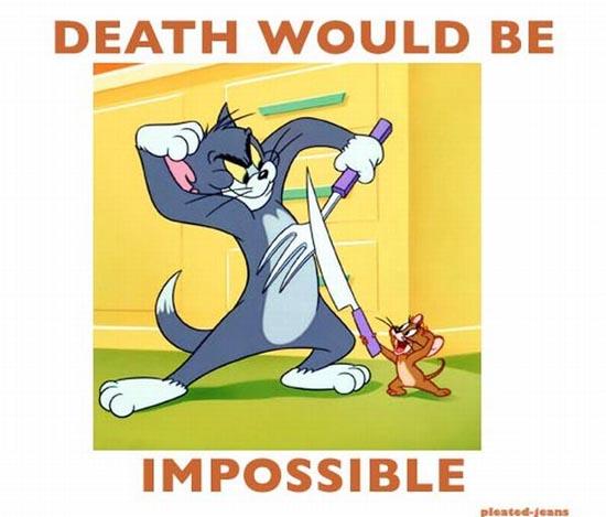 Πως θα ήταν η ζωή σου αν ήσουν cartoon... (10)