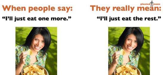 Συχνές φράσεις και τι εννοούμε στην πραγματικότητα (1)