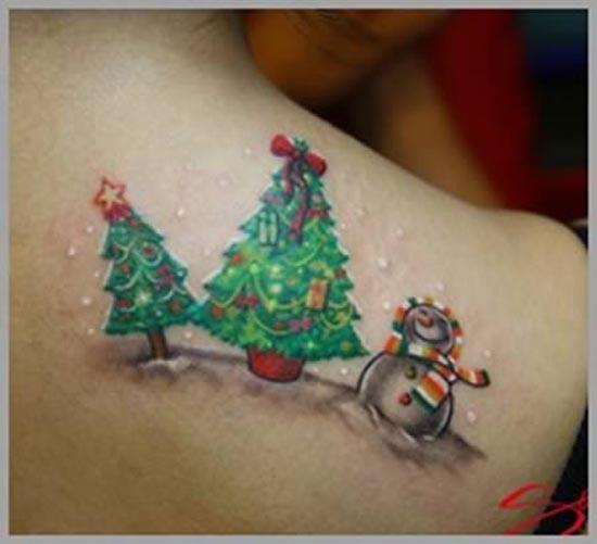 10 θεότρελα χριστουγεννιάτικα τατουάζ (8)