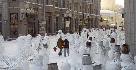 Ξεκαρδιστικοί Χιονάνθρωποι (6)