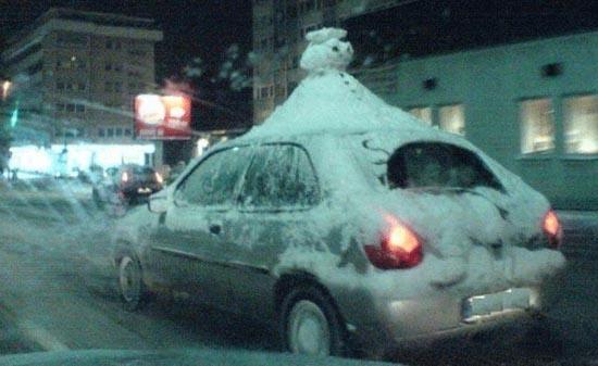 Ξεκαρδιστικοί Χιονάνθρωποι (10)