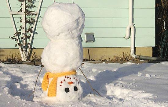 Ξεκαρδιστικοί Χιονάνθρωποι (15)