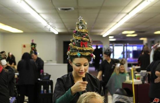 Χριστουγεννιάτικα χτενίσματα για «ξεχωριστές» εμφανίσεις (5)