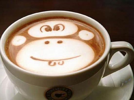 Υπέροχη τέχνη σε καφέ (2)