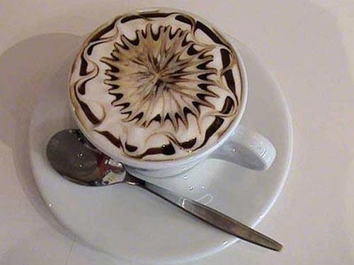 Υπέροχη τέχνη σε καφέ (3)