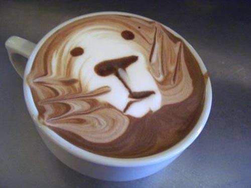 Υπέροχη τέχνη σε καφέ (21)