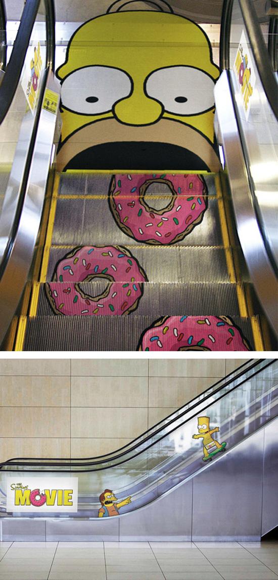 Πρωτότυπες διαφημίσεις σε κυλιόμενες σκάλες (4)