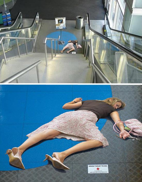 Πρωτότυπες διαφημίσεις σε κυλιόμενες σκάλες (6)