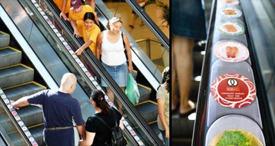Πρωτότυπες διαφημίσεις σε κυλιόμενες σκάλες (7)