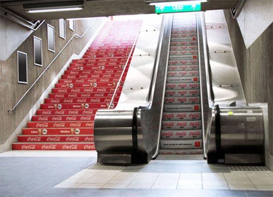 Πρωτότυπες διαφημίσεις σε κυλιόμενες σκάλες (8)