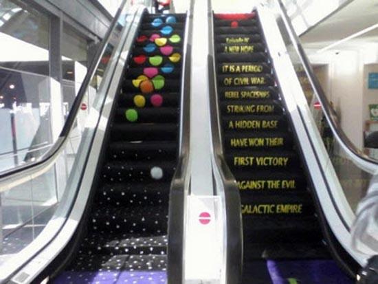 Πρωτότυπες διαφημίσεις σε κυλιόμενες σκάλες (10)