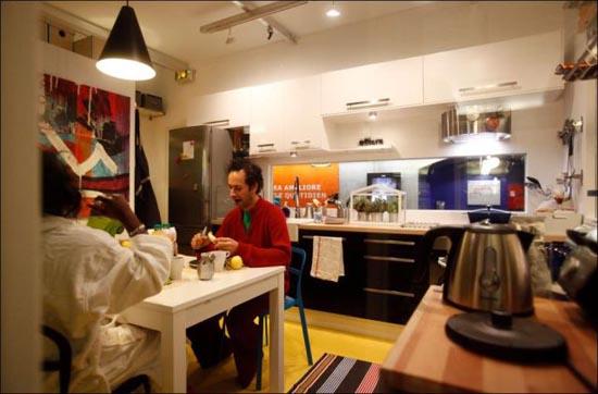 Μοναδικό διαμέρισμα μέσα στο Μετρό του Παρισιού (5)