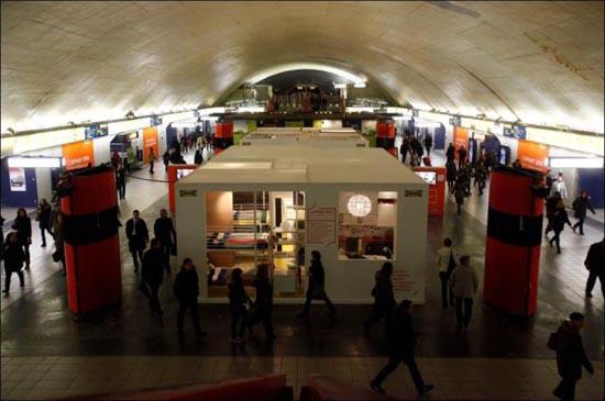 Μοναδικό διαμέρισμα μέσα στο Μετρό του Παρισιού (7)
