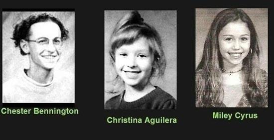 Διάσημοι σε σχολική ηλικία (7)