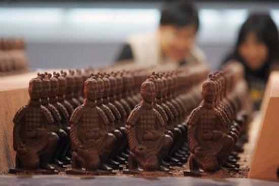 Εκπληκτικές δημιουργίες από σοκολάτα (21)