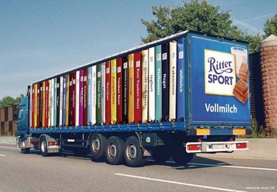 Εντυπωσιακές διαφημίσεις σε φορτηγά (1)