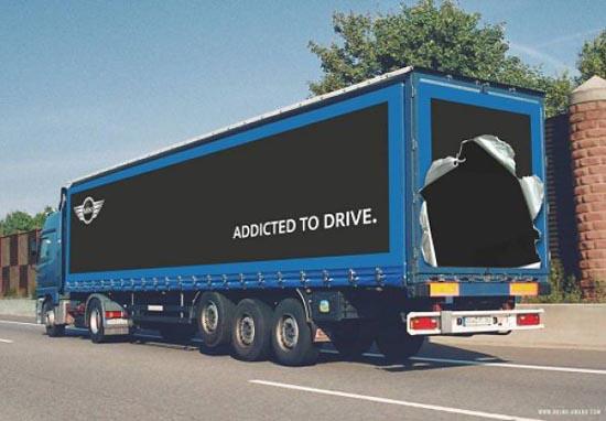 Εντυπωσιακές διαφημίσεις σε φορτηγά (2)