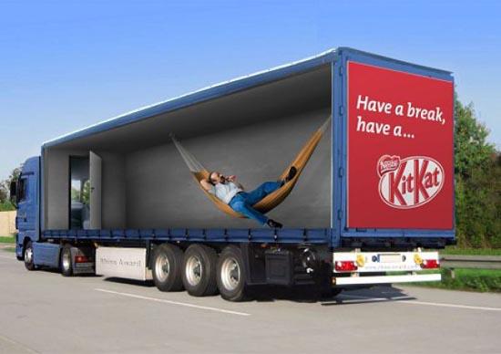 Εντυπωσιακές διαφημίσεις σε φορτηγά (4)