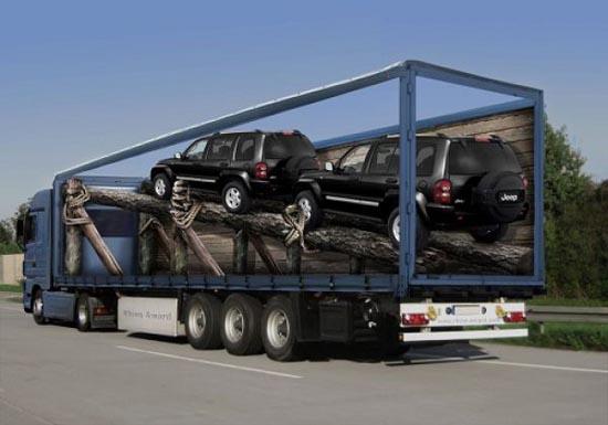 Εντυπωσιακές διαφημίσεις σε φορτηγά (6)