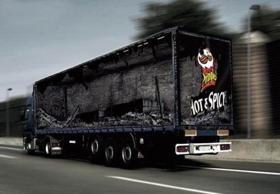 Εντυπωσιακές διαφημίσεις σε φορτηγά (8)
