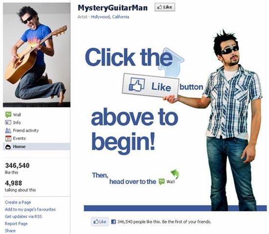 Εντυπωσιακές σελίδες στο Facebook (1)