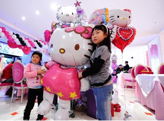 Εστιατόριο Hello Kitty στο Πεκίνο (1)