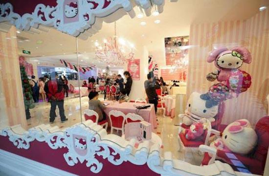 Εστιατόριο Hello Kitty στο Πεκίνο (15)