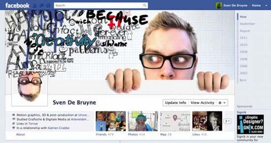 Εντυπωσιακά Facebook Profiles (2)