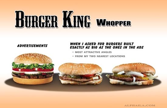 Fast Food: Διαφημίσεις vs Πραγματικότητα (7)