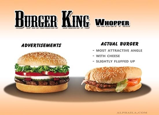 Fast Food: Διαφημίσεις vs Πραγματικότητα (9)