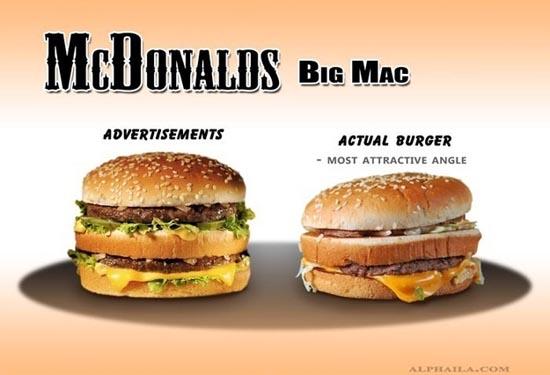 Fast Food: Διαφημίσεις vs Πραγματικότητα (11)
