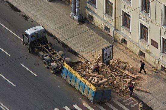 Φορτηγά σκέτη καταστροφή (2)