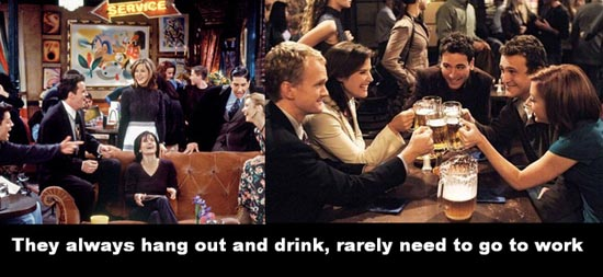 Friends vs How I Met Your Mother (2)