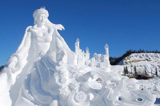 Γλυπτά από χιόνι (8)