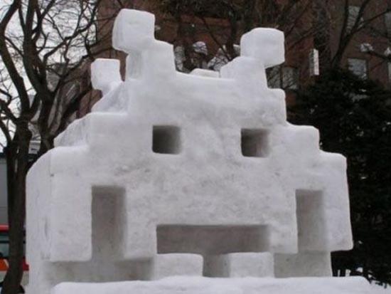 Γλυπτά από χιόνι (11)