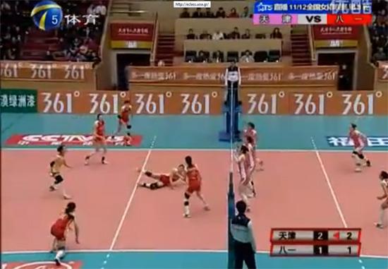 Γυναικείος αγώνας volley