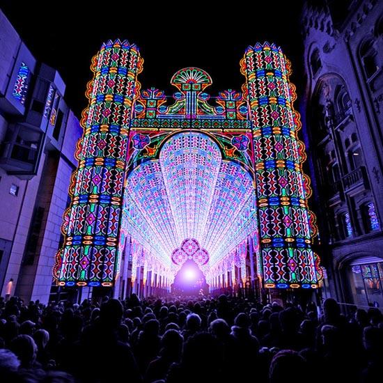Καθεδρικός ναός από 55.000 φώτα LED (1)