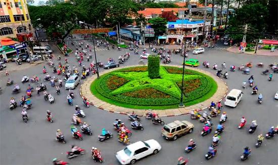 Η κυκλοφορία στους δρόμους της Saigon